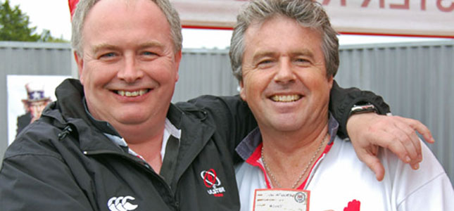 Iain Campbell, Ulster Rugby Supporters Club. URSC