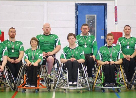 "Wheelchair Rugby: Game continues to develop with first ever ""Home Nations"""