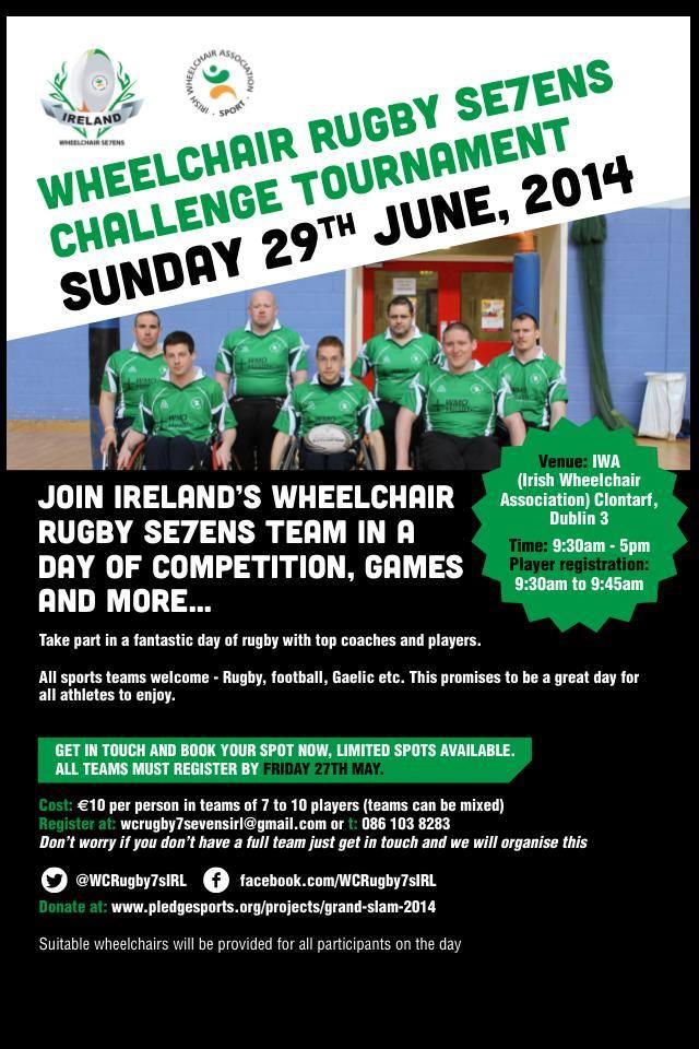 Irish WC&'s Poster