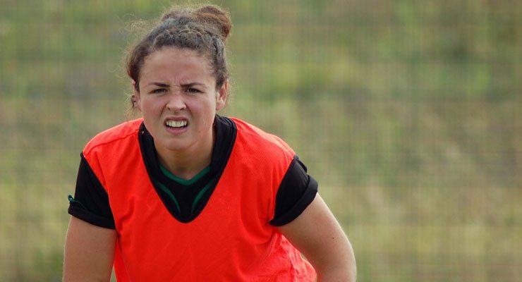 Donegals finest, Larissa Muldoon, starts at scrum half for Ireland.