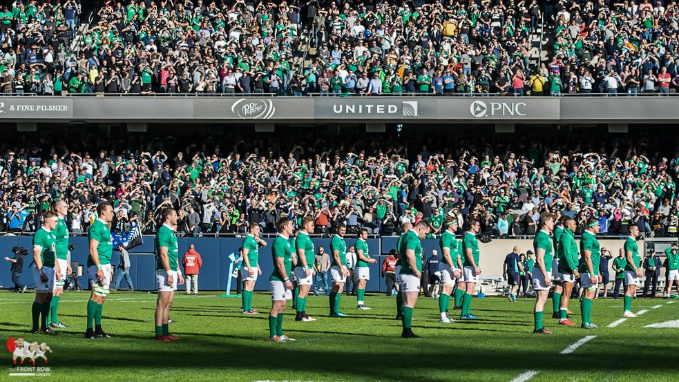 Ireland set the standard from the start. Picture Brittany Biedenbender: The Front Row Union.
