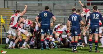 British and Irish Cup. Ulster A v London Scottish, Ravenhill, Belfast