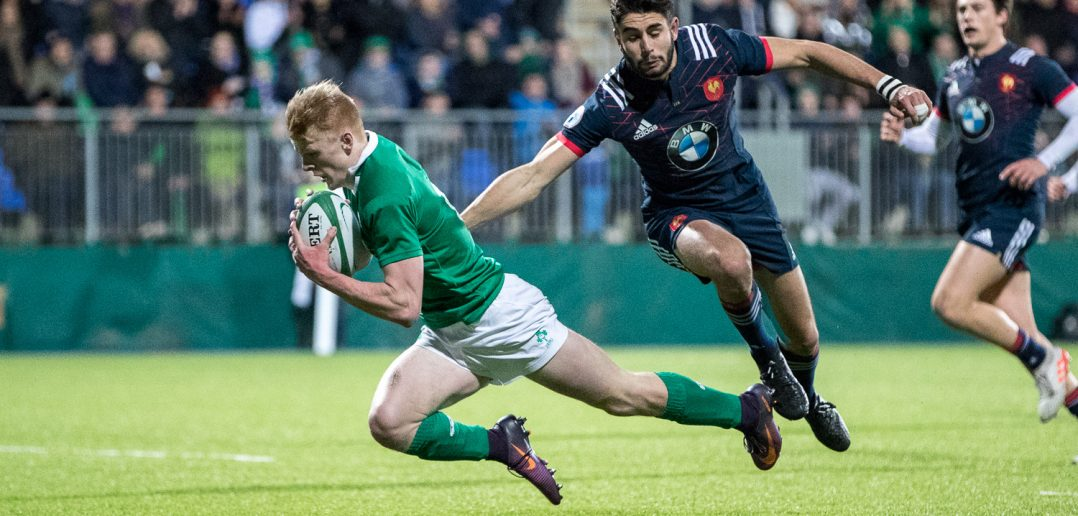 Tommy O'Brien, Ireland U20, RBS U20 Six Nations