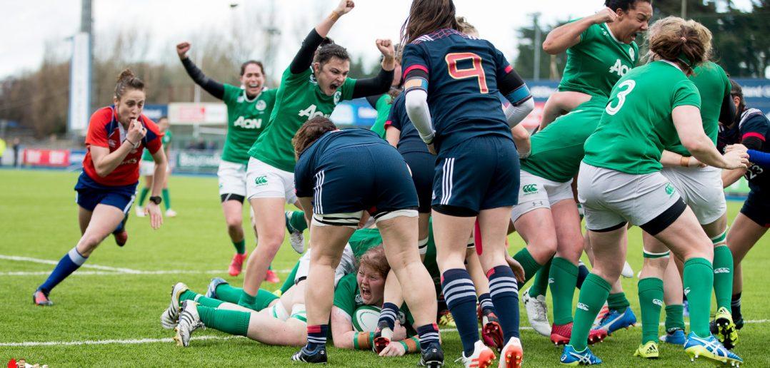 Leah Lyons, Ireland Women, RBS Women's Six Nations