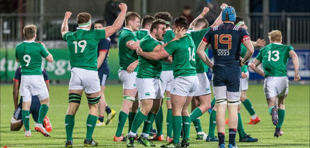 Ireland U20, France U20, RBS U20 Six Nations