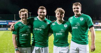 Jonny Stewart, Peter Cooper, Rob Lyttle, Marcus Rea