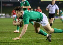 Ireland U20's Grand Slam hopes end in Wales