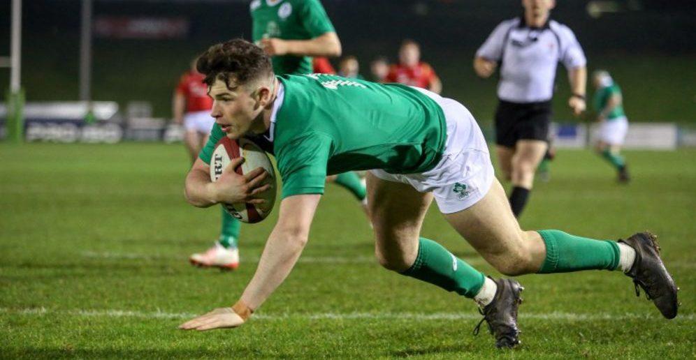 Calvin Nash, Ireland U20, U20 Six Nations