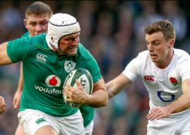 Ireland composure enough against England.