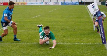 Calvin Nash, Ireland U20