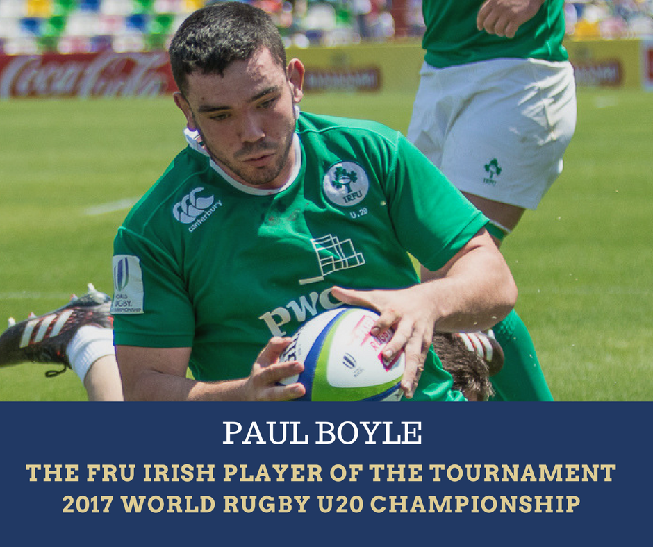 Paul Boyle, Ireland U20