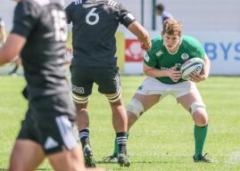 Ireland U20's Curtis and Regan boost Ulster Academy