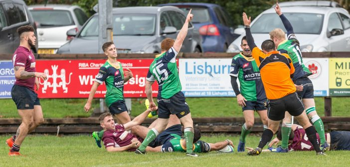 Junior Cup: Ballynahinch II 30 Enniskillen 7