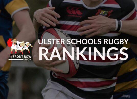Ulster Schools Rugby Rankings 2017/18 – Week 5