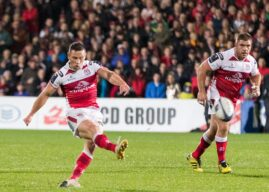 Cooney's boot secures victory at snowy Stoop