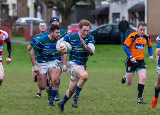 Club: Randalstown 25 Grosvenor 36