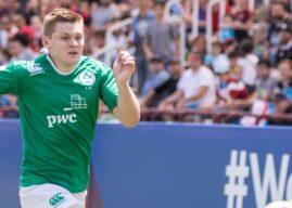 Under 20: Teams up for Ireland v Scotland.