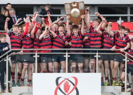 Medallion Shield: Ballymena Academy 10 Campbell College 8