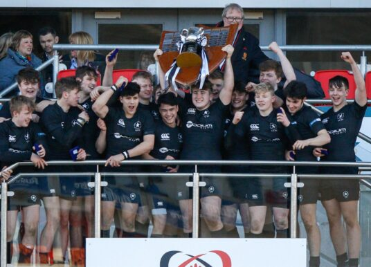 Schools Cup Final: Campbell College 19 Royal School Armagh 13