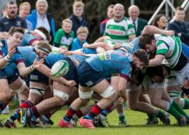 AIL Playoff: Belfast Harlequins 26 Omagh Academicals 20