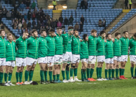 Ireland Squad Named for 2018 World Rugby U20 Championship