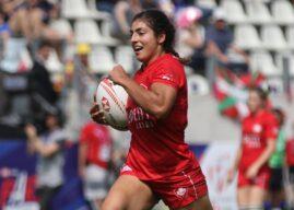 The FRU Player of the Women's Paris Sevens and Tournament Dream Team.