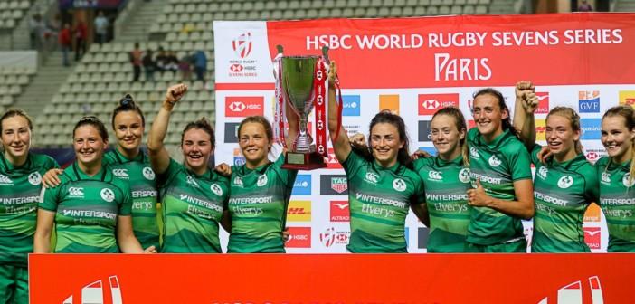 Ireland Women at the Paris Womens Sevens