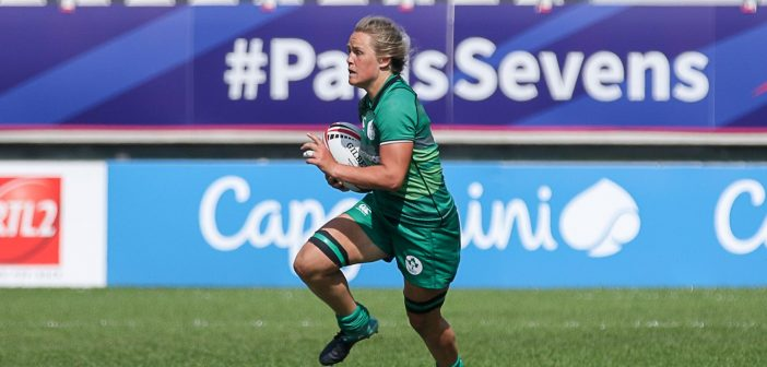 Ashleigh Baxter and Claire Boles to compete in the Rugby World Cup Sevens