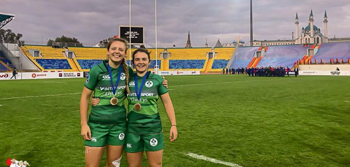 Team FRU Brittany and Ireland 7s