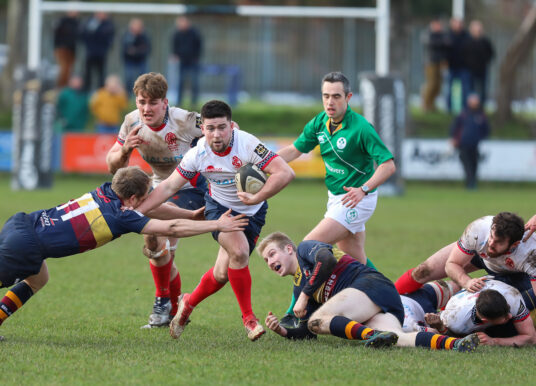 Club Men: Malone 22 Banbridge 15 (AIL 1B)