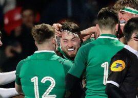 U20 Six Nations: Ireland 35 England 27