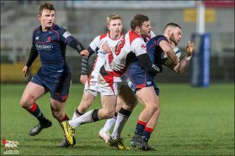 Ulster A v London Scottish, British and Irish Cup. Ravenhill 13t